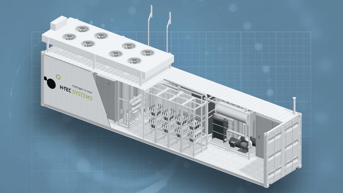 PEM-Elektrolyseure (je 225 kW)