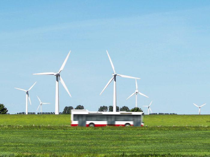 Windparks in Nordfriesland